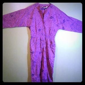 Vintage Diane Von Furstenberg cotton jumpsuit